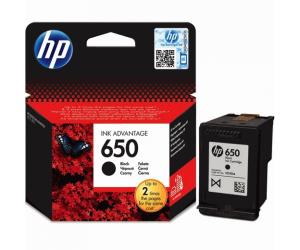 Cartus original HP 650 negru